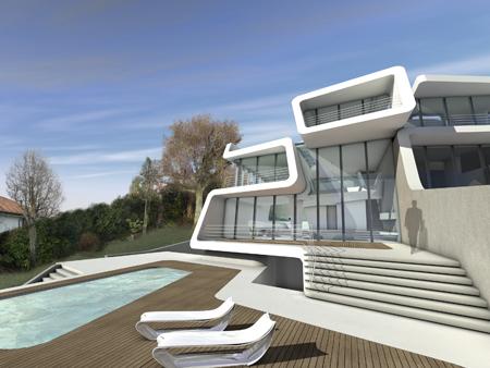 Kusnacht Villa - Zaha Hadid Architects