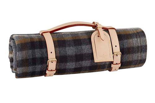 Louis Vuitton Wool Picnic Blanket