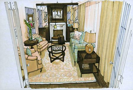 Room Design by Candice Olsen
