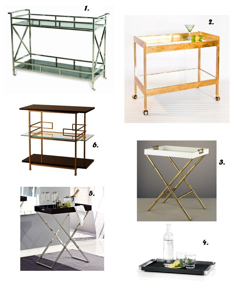 Bar Cart Options